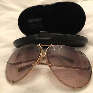 Porsche Carrera  gold frame sunglasses 5623